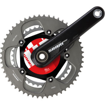 SRAM SRM PowerMeter Pro Wireless BB30 Double Chainset