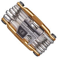 Crank Brothers 19 Function Multi Tool (Gold)