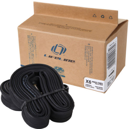 LifeLine Essential Narrow Road Inner Tubes - 6 Pack