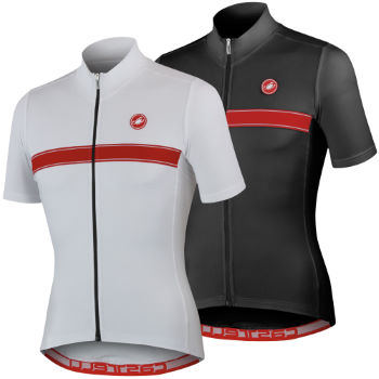Castelli Fedele Full Zip Short Sleeve Jersey