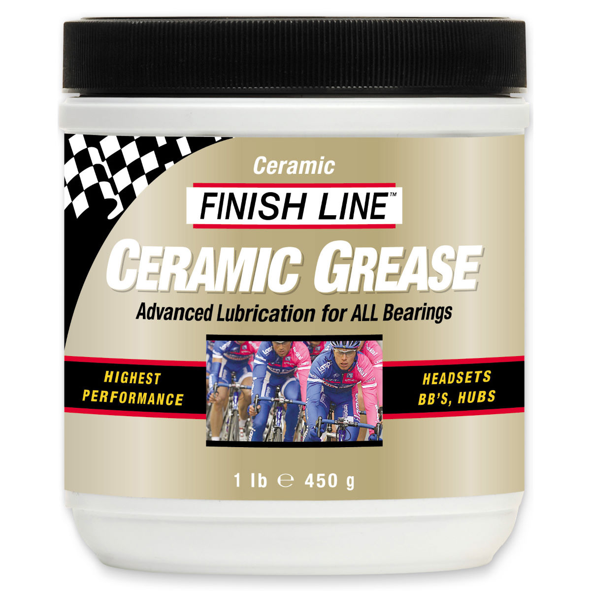 Tube de graisse céramique Finish Line 60 g - 455g Graisse