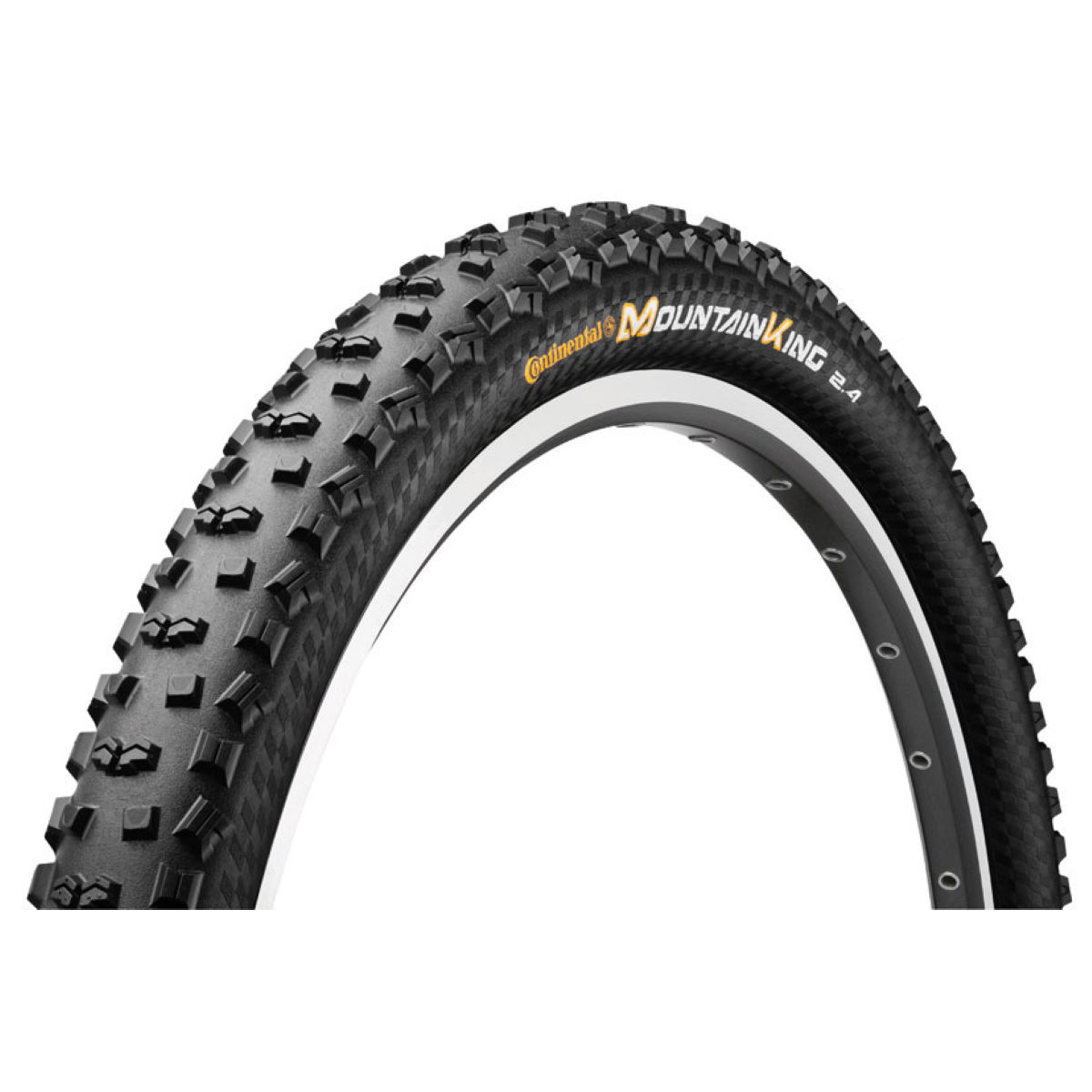 Pneu VTT Continental Mountain King II ProTection (souple) - 2.4' 26'