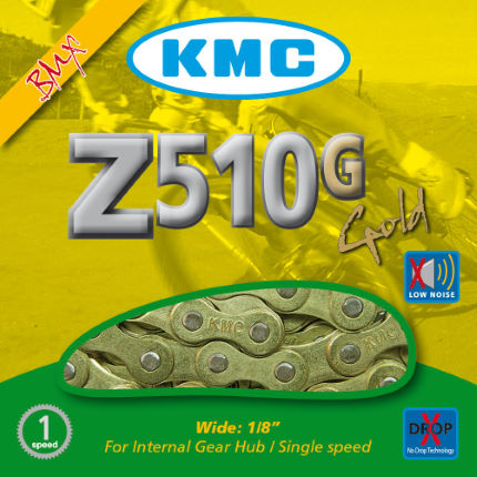 KMC Z510 Gold BMX Chain