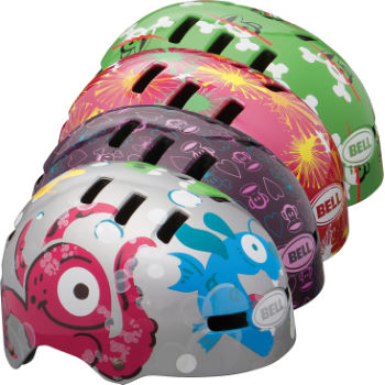 Bell Kids Fraction Helmet - 2012