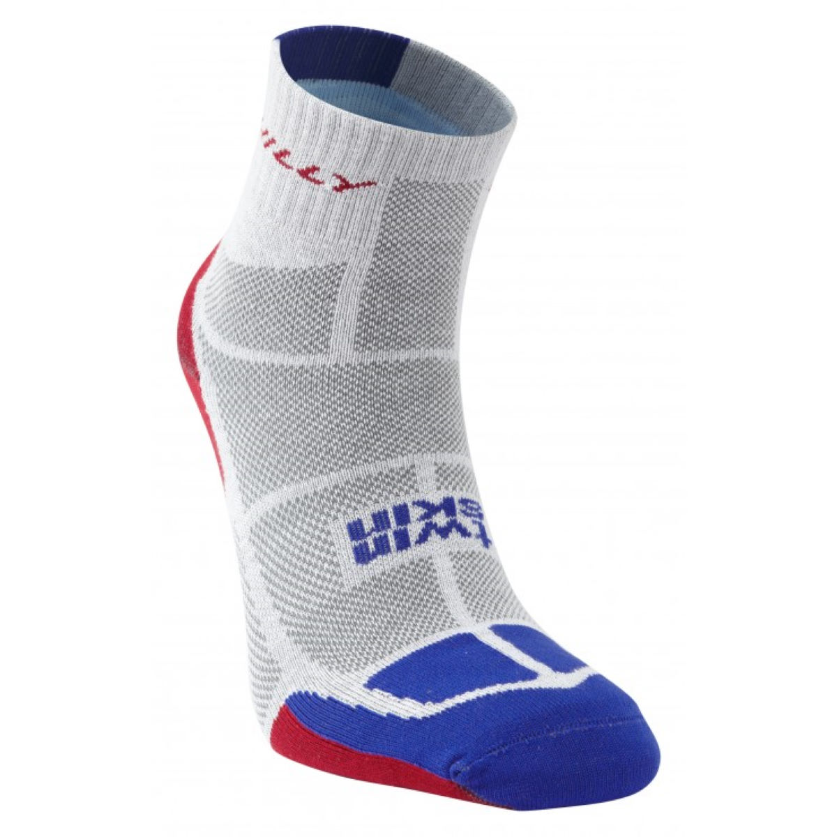 Chaussettes Hilly Twin Skin PE14 - S Grey/Blue/Red Chaussettes