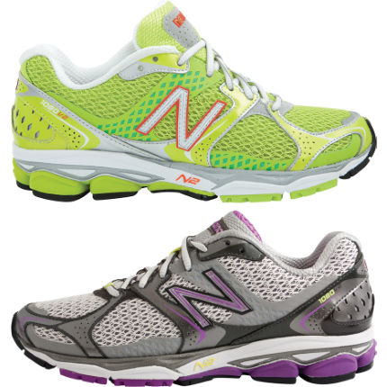 New Balance Ladies W1080V2 Neutral Shoes - B Width AW12