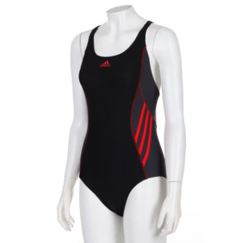 Adidas Ladies Aquawear Inspiration One Piece Swimsuit