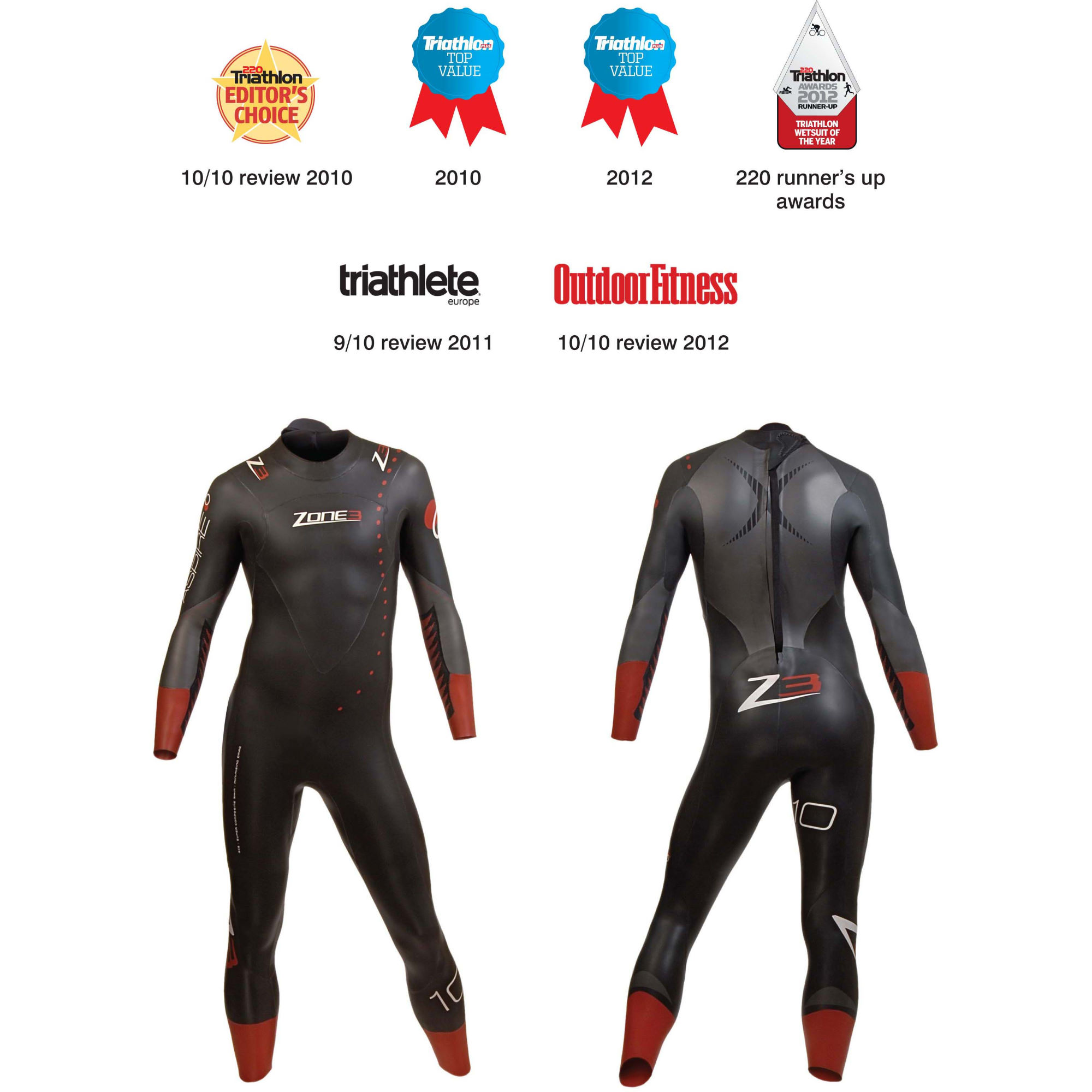 Wiggle | Zone3 Aspire Wetsuit 2012 | Wetsuits