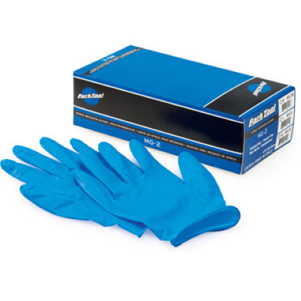gants jetables park tool box of 100 nitrile 2 mechanics gloves wiggle france. Black Bedroom Furniture Sets. Home Design Ideas