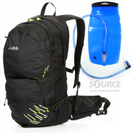 dhb Luggit Slice 25L Rucksack + FREE Hydration Pack