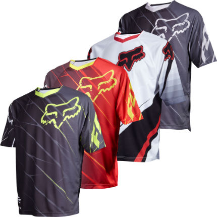 Fox 360 Short Sleeve Downhill Jersey - 2012