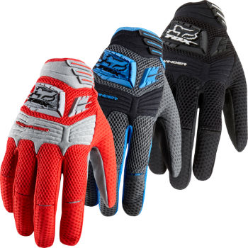 Fox Sidewinder Full Finger Gloves - 2012
