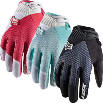 Fox Ladies Reflex Gel Full Finger Gloves - 2012