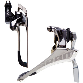 SRAM Red Front Derailleur (Braze-On) and Chain Spotter