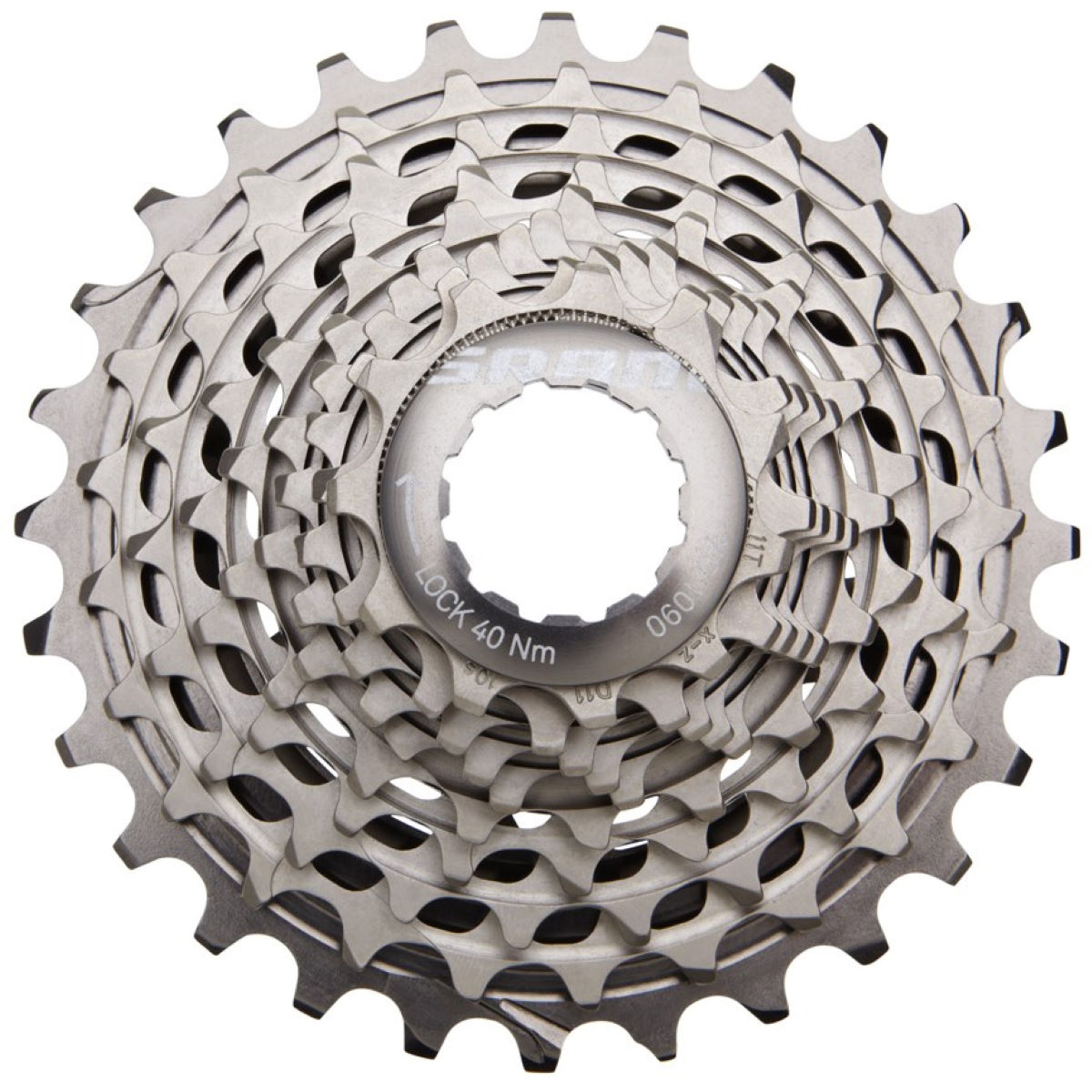 SRAM XG1090 Red 10 Speed Cassette (Powerdome X)
