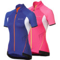 Odlo Ladies Power Full Zip Short Sleeve Jersey