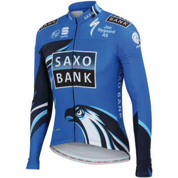 Sportful Saxo Bank Thermal Jersey - 2012