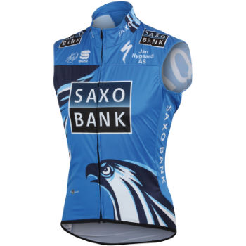 Sportful Saxo Bank Windstopper Vest - 2012