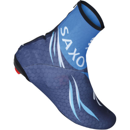 Sportful Saxo Bank Lycra Time Trial Bootie - 2012