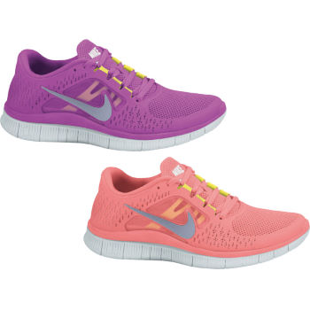 Nike Ladies Free Run Plus 3 Shoes SS12