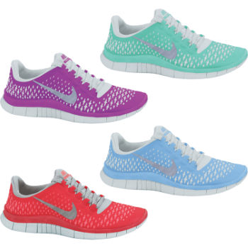 Nike Ladies Free 3.0 V4 Shoes SS12