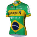 Castelli Garmin Barracuda Brazilian Champion Jersey - 2012