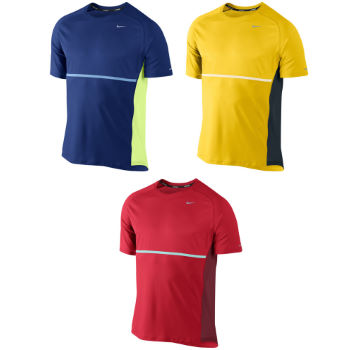 Nike Sphere Short Sleeve Run Top SS12