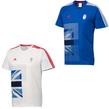 Adidas London Olympics 2012 Team GB OSP Graphic Tee