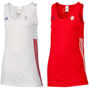 Adidas London Olympics 2012 Ladies Team GB OSP Tank Top