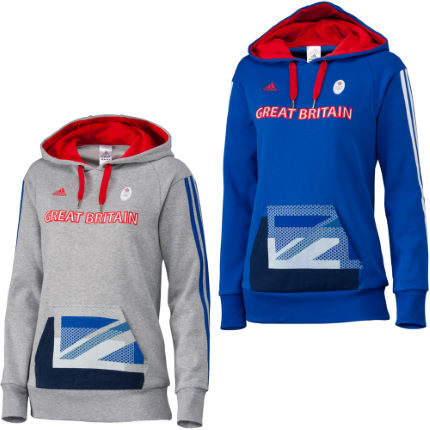 Adidas London Olympics 2012 Ladies Team GB OSP Hoodie