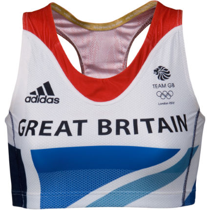 Adidas London Olympics 2012 Ladies Team GB Crop Top
