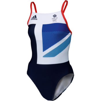 Adidas London Olympics 2012 Ladies Team GB Swimsuit