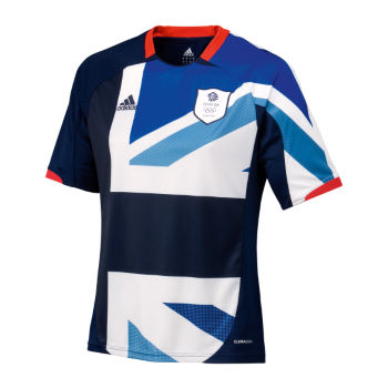 Adidas London Olympics 2012 Team GB Home Football Shirt