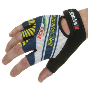 Santini Vacansoleil-DCM Team Race Gloves - 2012