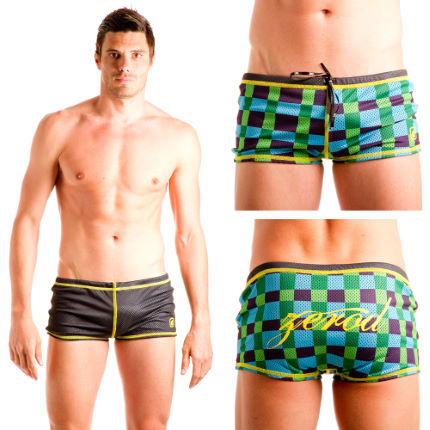 Z3R0D Reversible Dragshorts - SS12