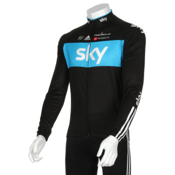 Team Sky Long Sleeve Jersey - 2012