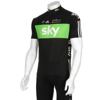 Team Sky Jersey - Sky Rainforest Rescue Edition - 2012