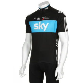 Team Sky Short Sleeve Jersey - 2012