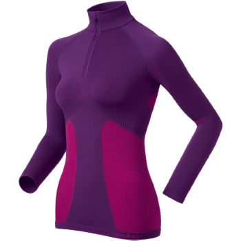 Odlo Ladies Evolution Warm Zip LS Base Layer - 2011