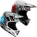 SixSixOne Evo Wired Full Face Helmet - 2012