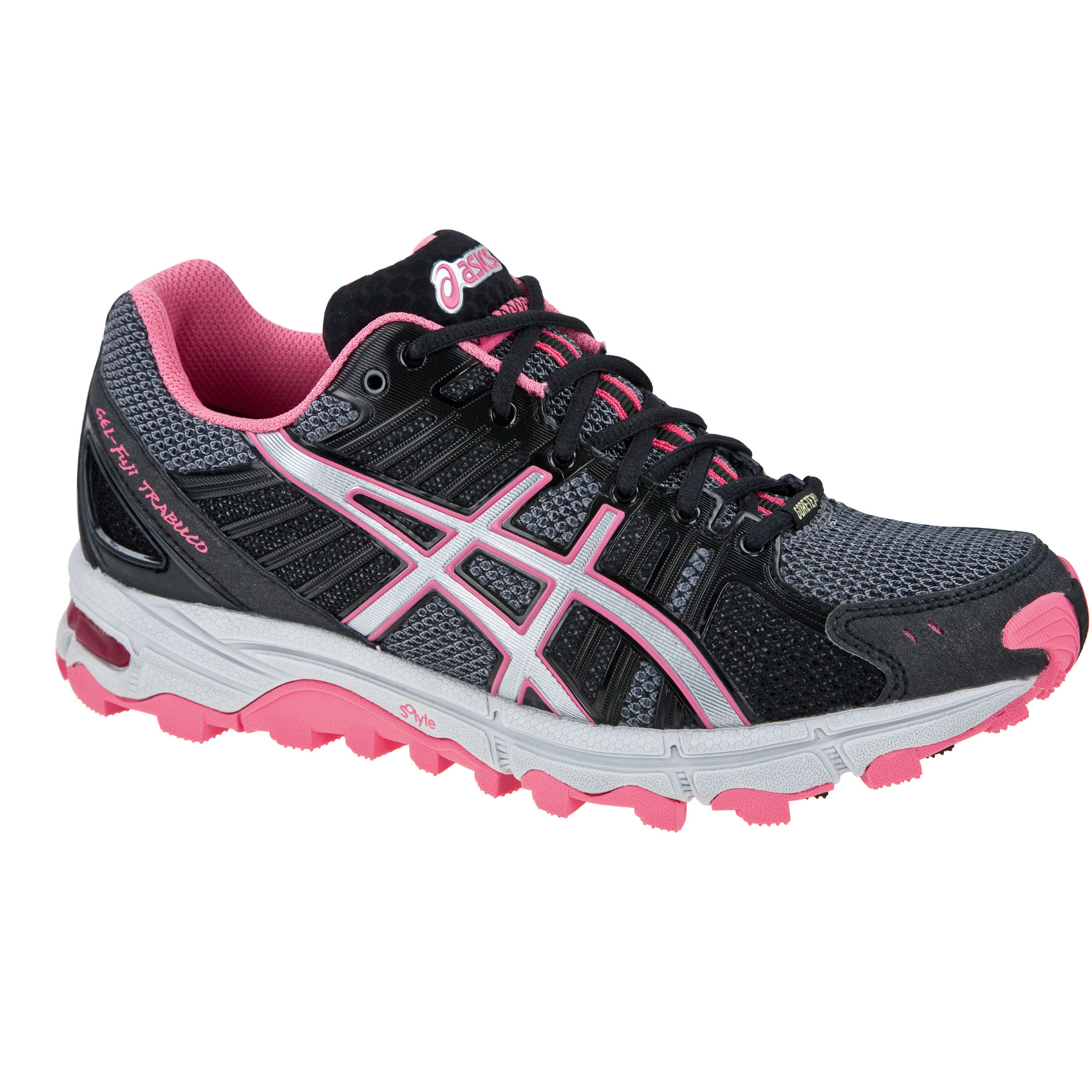 chaussures de running trail asics ladies gel fuji trabuco neutral gtx shoes aw12 wiggle france. Black Bedroom Furniture Sets. Home Design Ideas