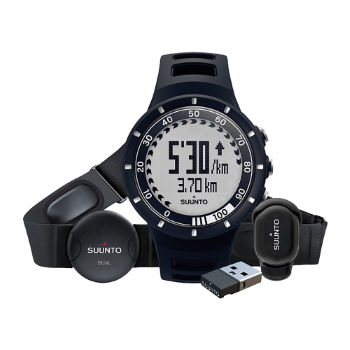 Suunto Quest Running Pack Including Watch and HRM