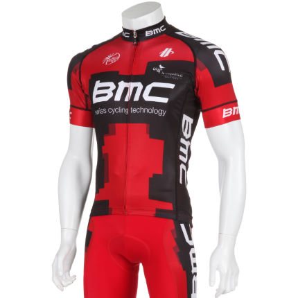 Hincapie BMC Team Short Sleeve Jersey - 2012