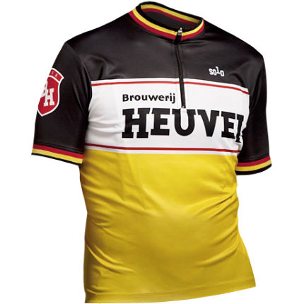Solo Heuval Short Sleeve Cycling Jersey