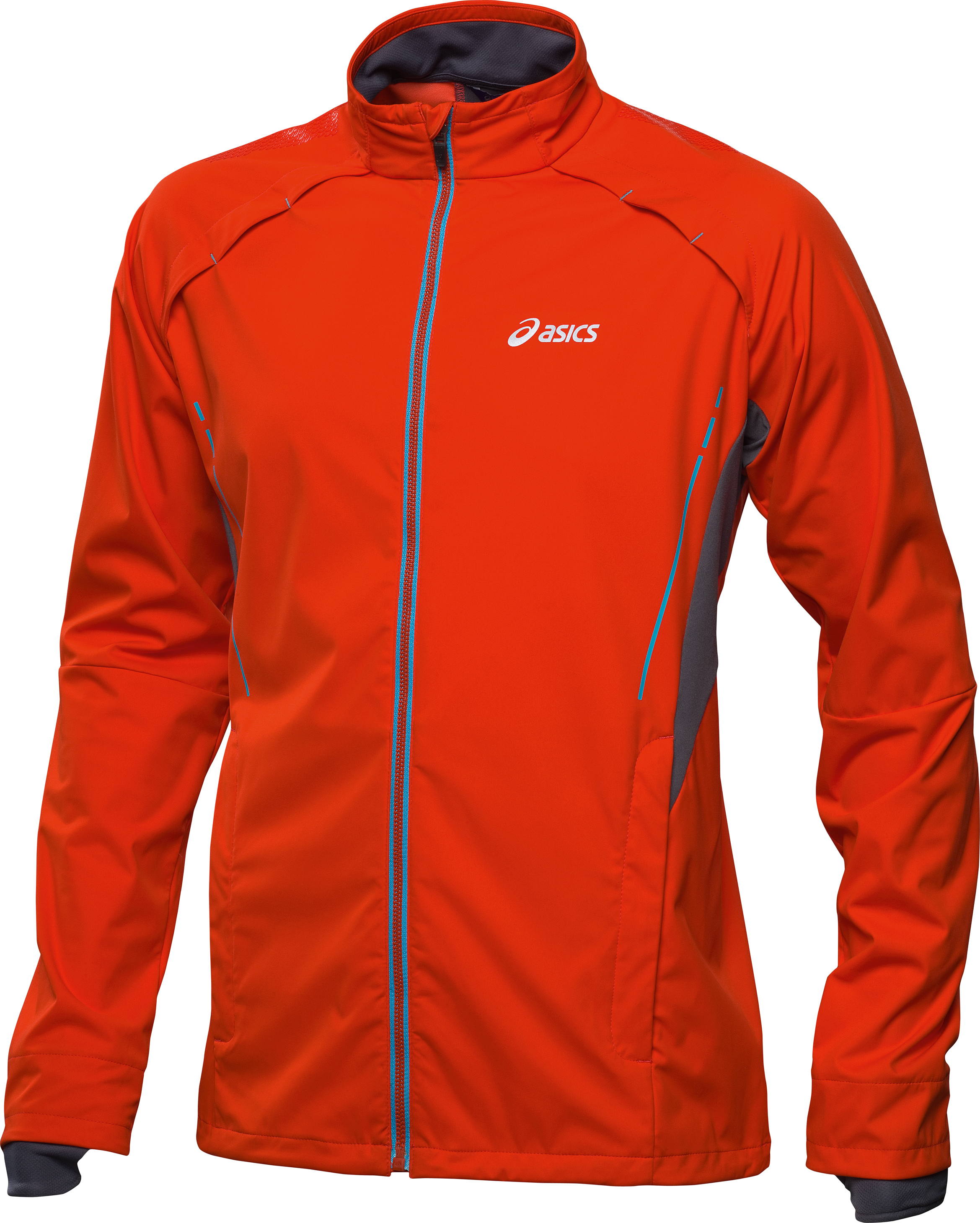 cheap asics running jacket