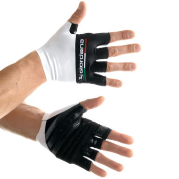 Giordana Italian Flag Summer Short Finger Cycling Glove