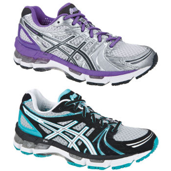 Asics Ladies Gel Kayano 18 Shoes aw12.