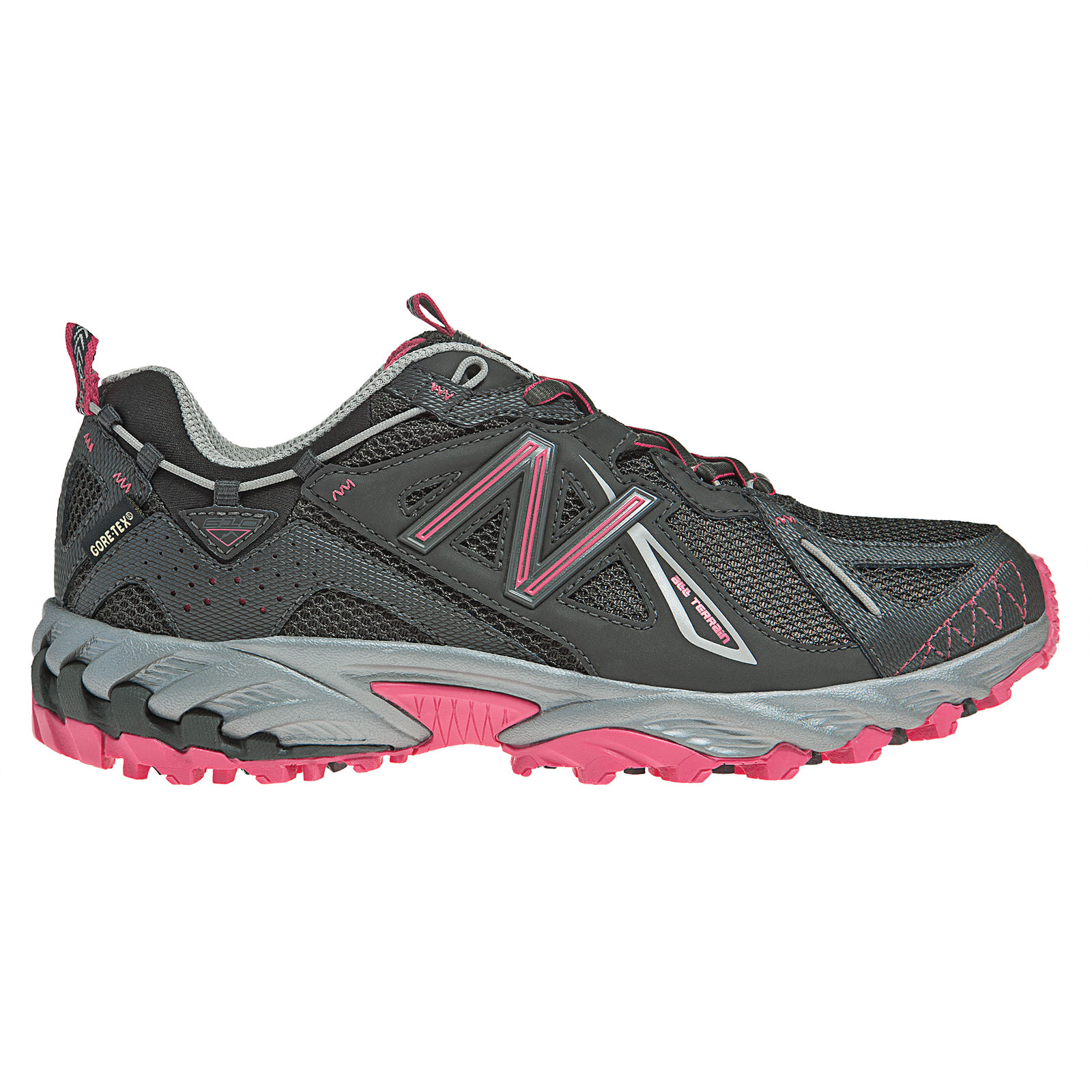 chaussures de running trail new balance ladies wt610gtx trail shoes aw12 wiggle france. Black Bedroom Furniture Sets. Home Design Ideas