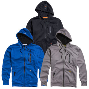 Fox Transport Zip Front Fleece