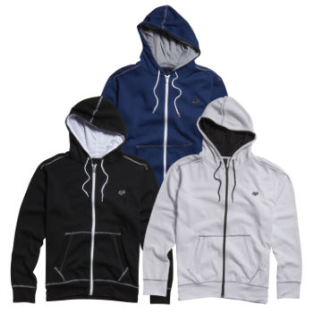 Fox Judas Zip Front Fleece